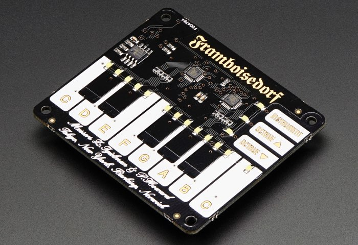 Pimoroni Piano Raspberry Pi HAT
