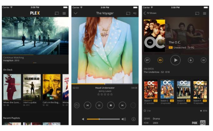 Plex iOS App Updated
