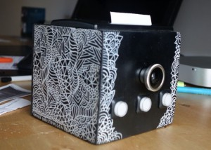 Raspberry Pi Camera Combined With Thermal Printer (video)