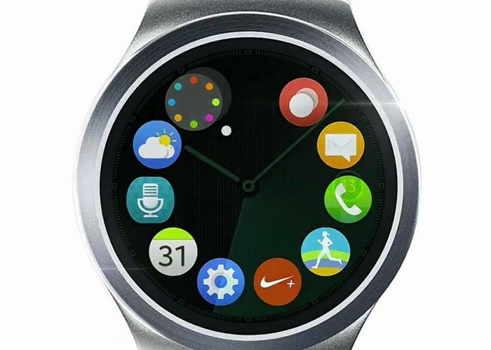 Round Samsung Gear S2 Smartwatch