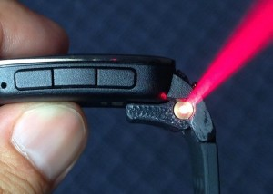 SLAZER Laser For Pebble Time Hits Kickstarter (video)