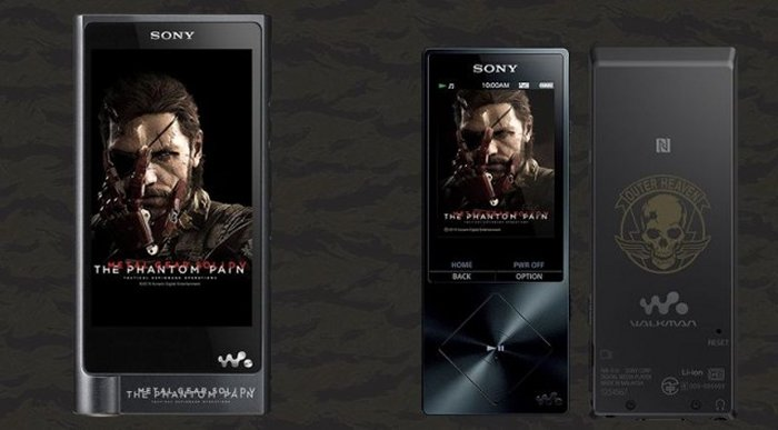 Sony Launches A Metal Gear Solid Walkman