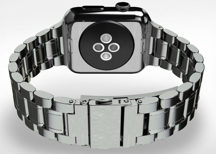 $49 HyperLink Stainless Steel Apple Watch Strap (video)