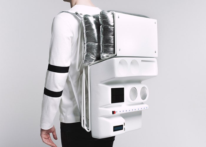 Technopicnic Solar-Powered Picnic Backpack (video)