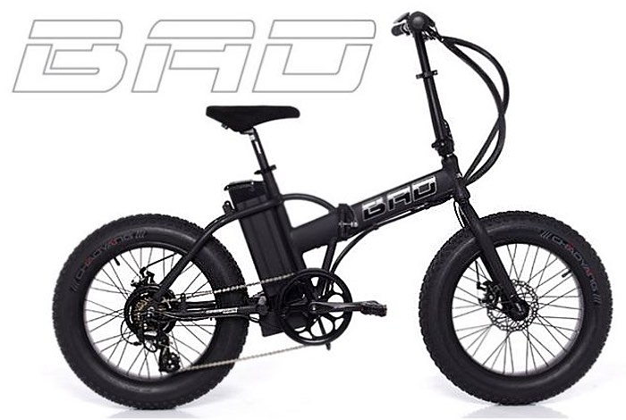 The Fat Bad Electric Folding Bike