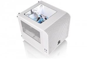 Thermaltake Core V1 Snow Edition Chassis Supports Liquid Cooling