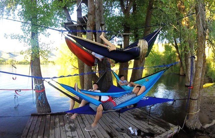 Tree-O Hammock Frame System Launches On Kickstarter (video)