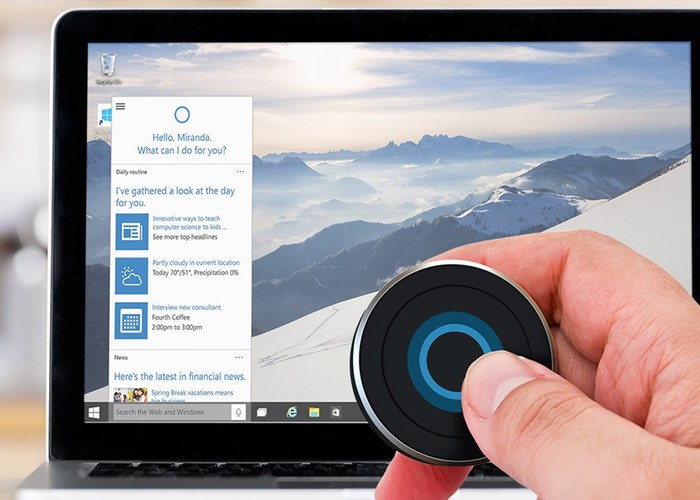 Windows 10 Cortana Button