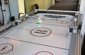 Windows 10 IoT Core Robotic Air Hockey Table (video)