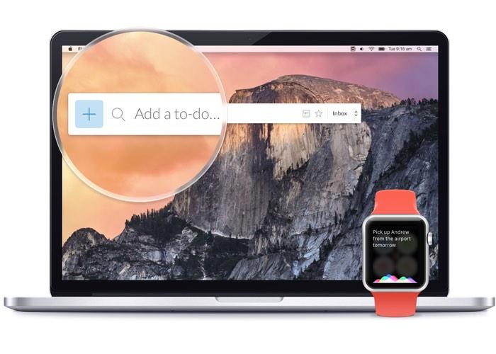 Wunderlist Mac App