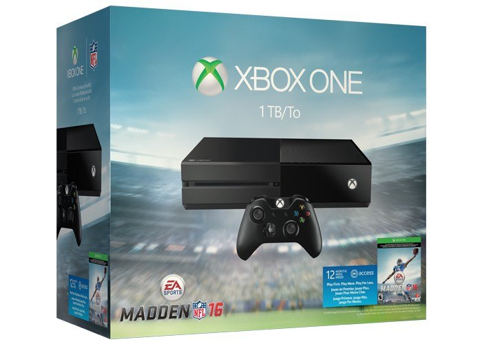 Xbox One EA Madden NFL 16 Bundle