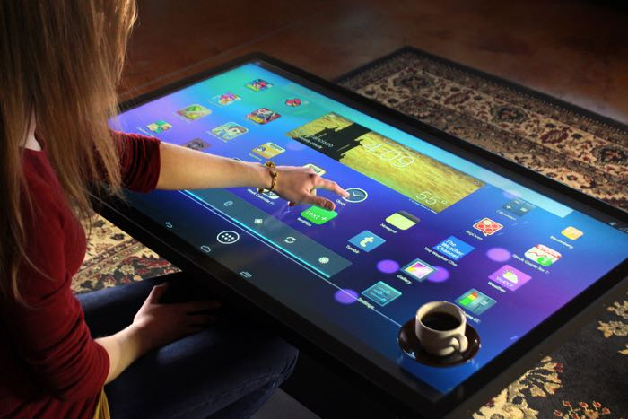 giant Android tablet