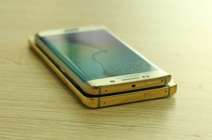 Gold Plated Galaxy Note 5