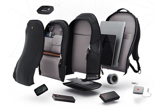 iBackPack, Designed To Be The Ultimate Gadget Bag (video)