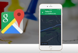Google Maps iOS App Receives Night Mode, For Easier Nighttime Navigation
