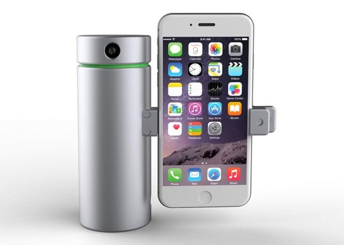 iPhone Eora 3D Scanner