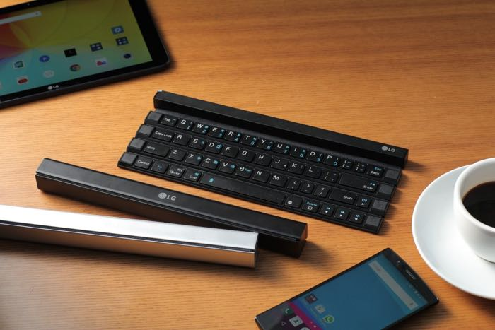 LG Rolly Is A Rollable Keyboard For Your Tablet (Video)
