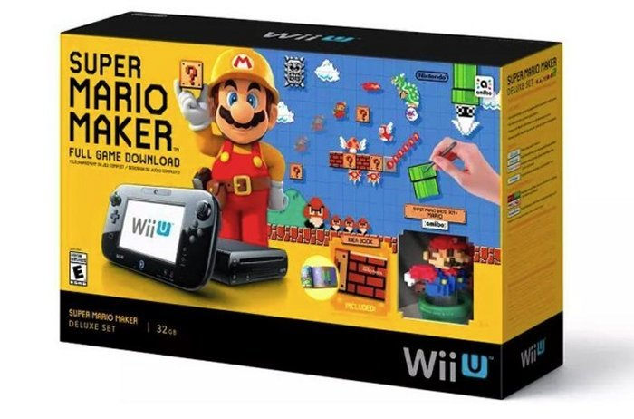 Super Mario Maker Wii U Bundle Up For Pre-Order
