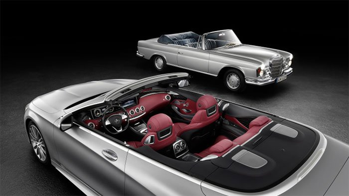 Mercedes S-Class Cabrio Gets Official
