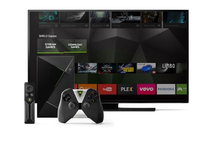 nvidia android TV