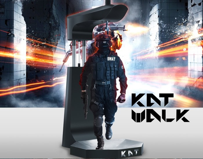 Kat Walk Virtual Reality Treadmill Successfully Funded (video)