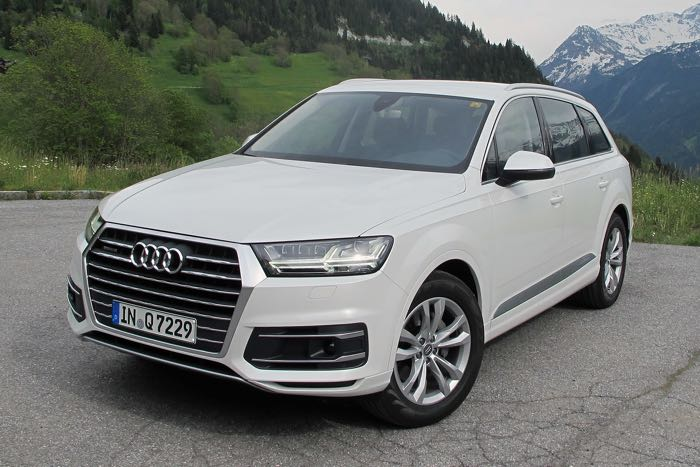 audi q7 ultra launched in europe. Black Bedroom Furniture Sets. Home Design Ideas