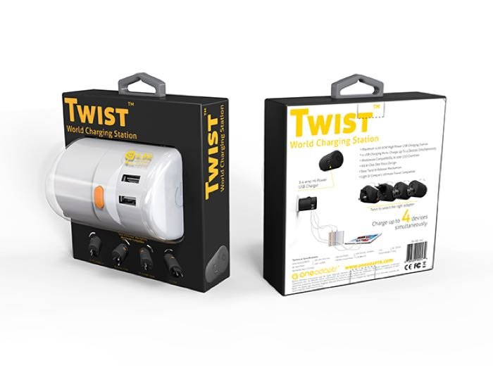 Twist World Charging Station, Save 27%