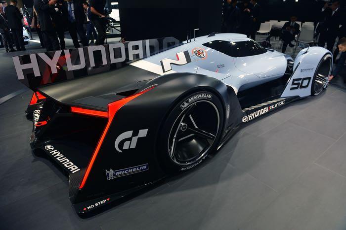 Luxury Hyundai N 2025 Vision Gran Turismo Concept Announced In