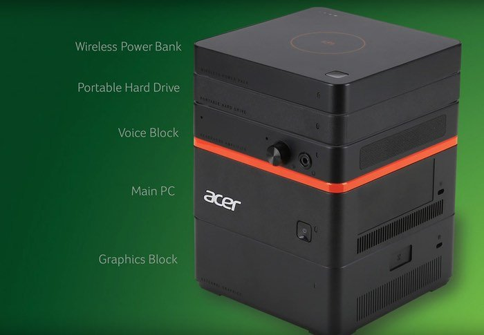 Acer Revo Modular Windows 10 PC