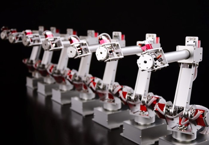 Aluminium 6-axis Robot Arm