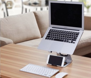 Apex Revolution Smartphone And Laptop Stand Hits Kickstarter (video)