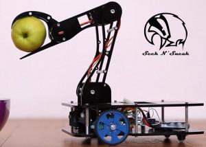 Seek N' Sneak 2 Arduino Robotic Pet Hits Kickstarter (video)