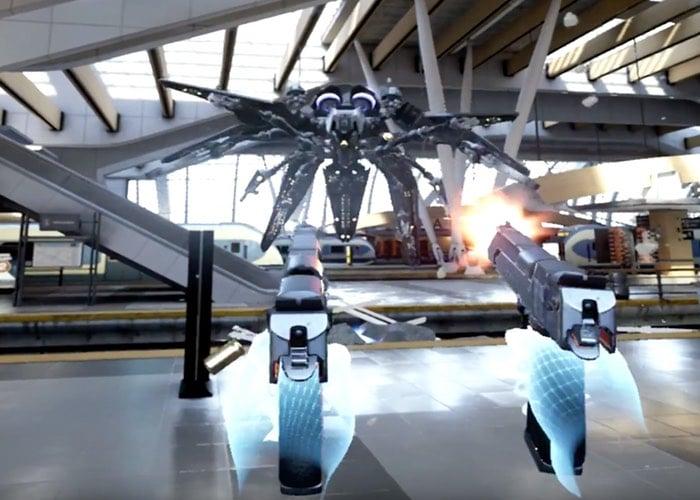 Bullet Train VR Demo