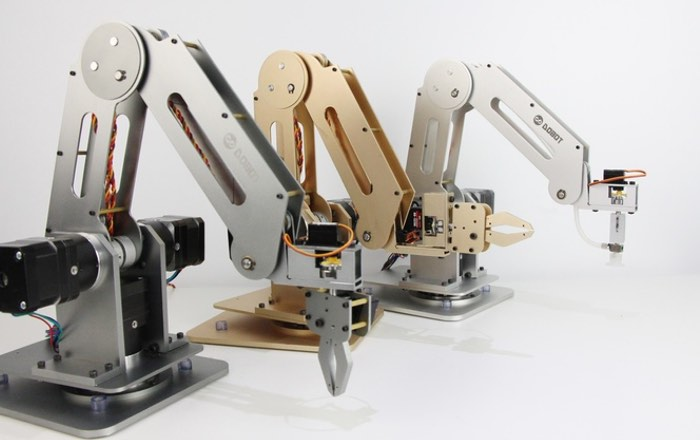 Dobot open source arduino robotic arm launches on