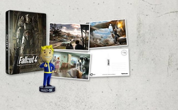 Fallout 4's Steelbook And Postcard Set Will Be Exclusive To GAME UK