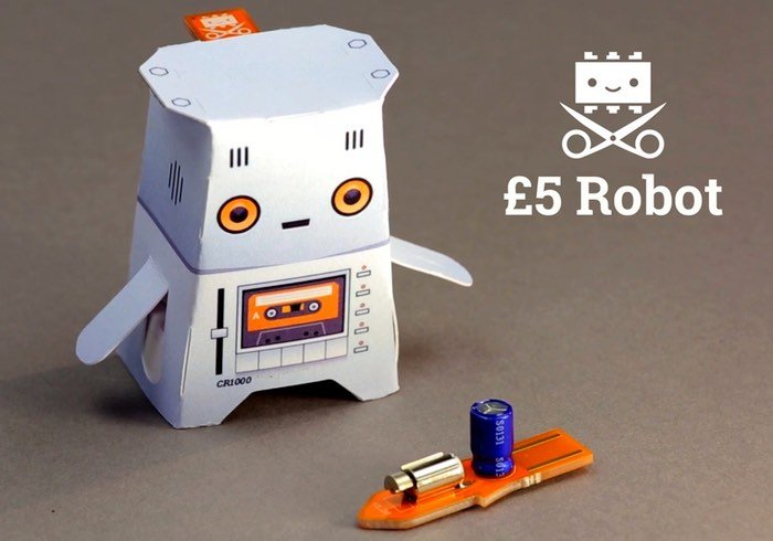 Fun Crafty Robot Launches From Just £5