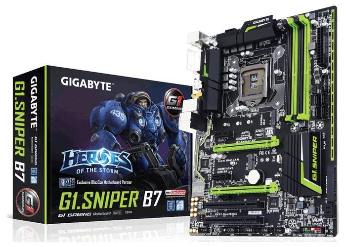 Gigabyte G1.Sniper B7 Socket LGA1151 Motherboard