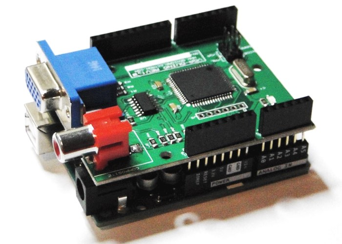 Graphic Card Shield For Arduino