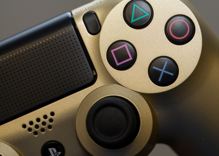 Limited Edition Gold PlayStation 4