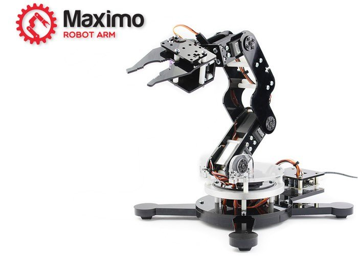 Maximo Robot Arm Designed To Learn About Robotics Video