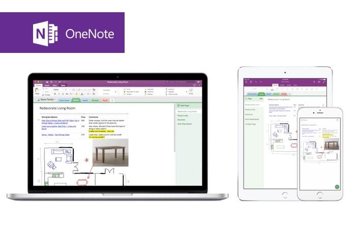 Microsoft OneNote iOS 9 Update