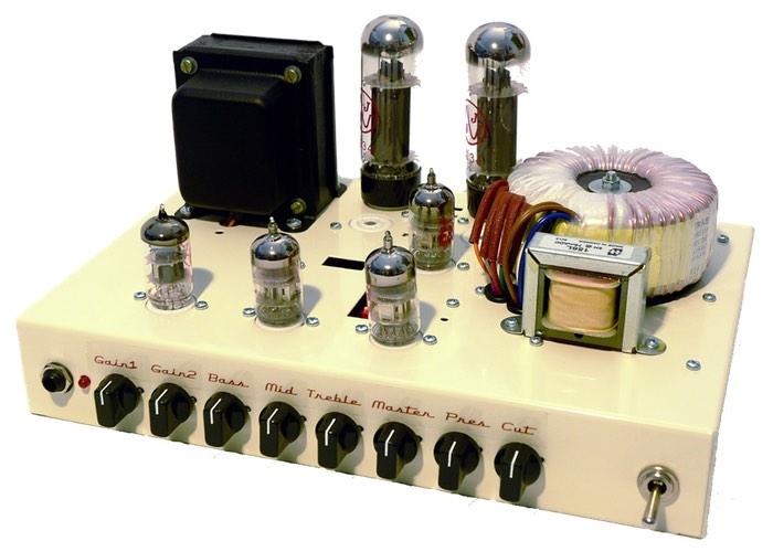 Modelling Guitar Amplifier
