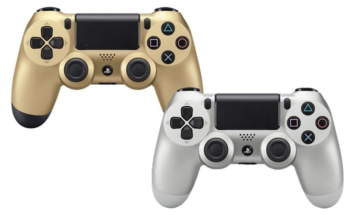 New Colours For DualShock 4 Controllers
