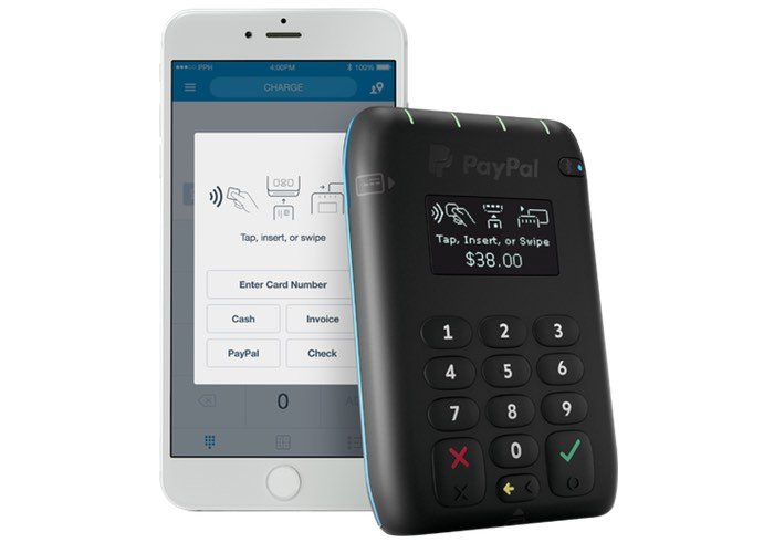 New PayPal Chip Card Reader