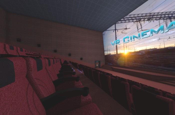 Oculus VR Cinema app