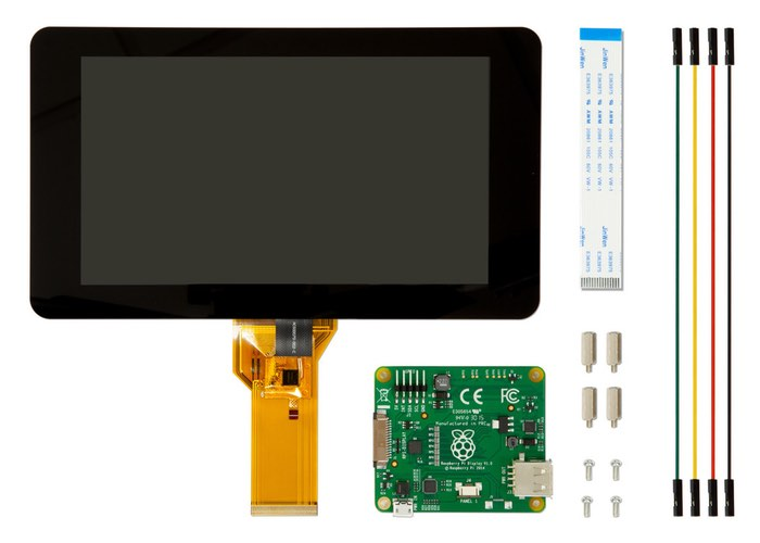 Official Raspberry Pi 7 inch Touchscreen