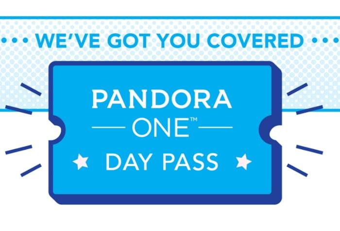 Pandora One Day Pass