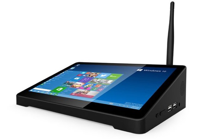 Pipo X9 Dual Booting Mini PC Equipped With 8.9 inch Touchscreen