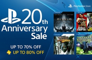 PlayStation 20th Anniversary Sale Offers Up to 70% Off 100+ Games