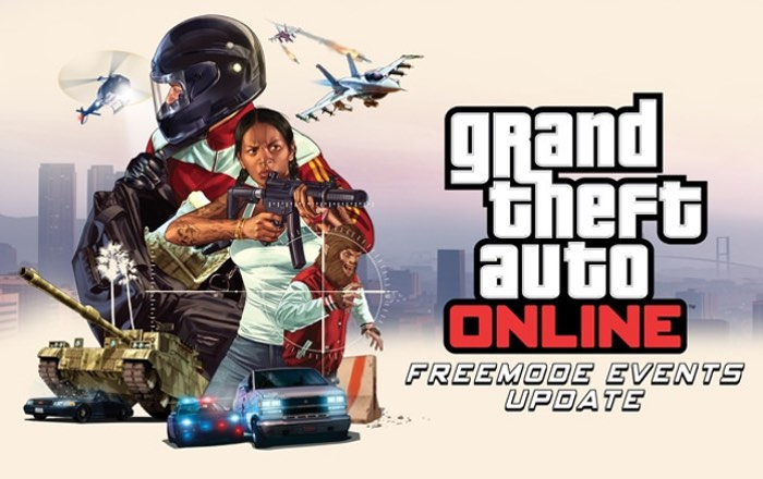 PlayStation 4 GTA Online Freemode Events Update